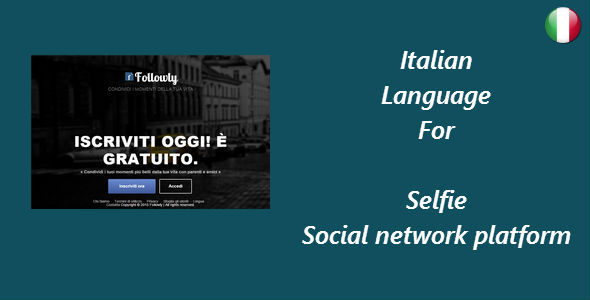 CodeCanyon Italian Language for Selfie 10843986