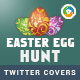 Easter Twitter Header - GraphicRiver Item for Sale