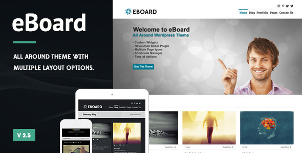 eBoard - All Around WordPress Theme - Business Corporate