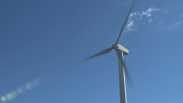 Wind Turbine Creates Energy 9 Of 10