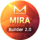 Mira Responsive Email + Template Builder Access - ThemeForest Item for Sale