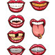 Cartoon Mouths - GraphicRiver Item for Sale