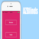 AZBlinds: UIKit Dynamics Animation