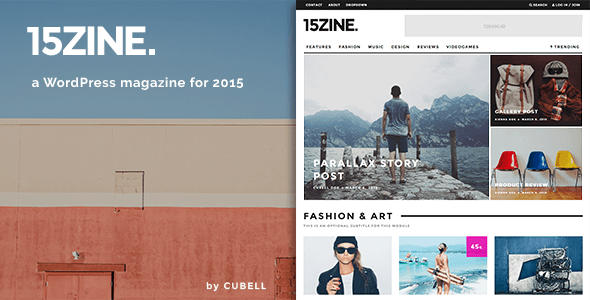 15Zine - HD Magazine / Newspaper WordPress Theme - News / Editorial Blog / Magazine