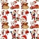 Seamless Santa - GraphicRiver Item for Sale