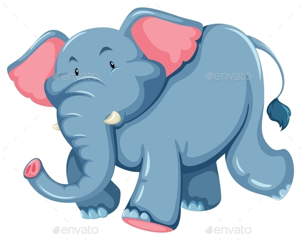 GraphicRiver Blue Elephant 10848879