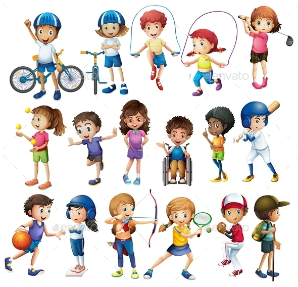 GraphicRiver Children and Sports 10848926