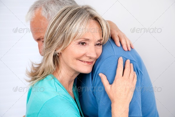 Couple Embracing - Stock Photo - Images