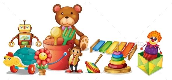 GraphicRiver Toys 10849161