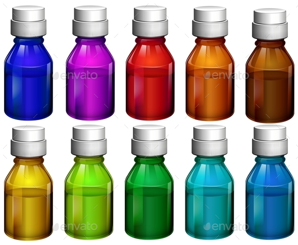 GraphicRiver Medicine Bottles 10849231
