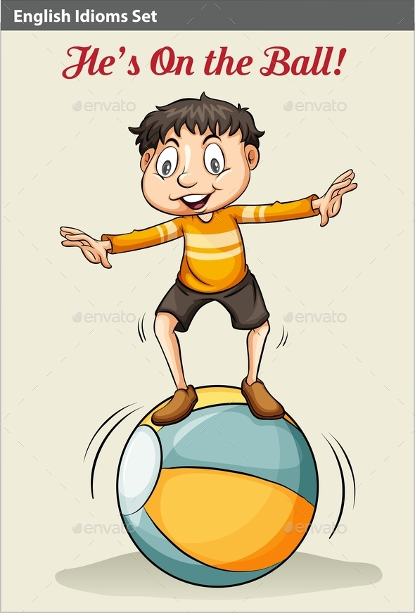 GraphicRiver He s on the Ball 10849332