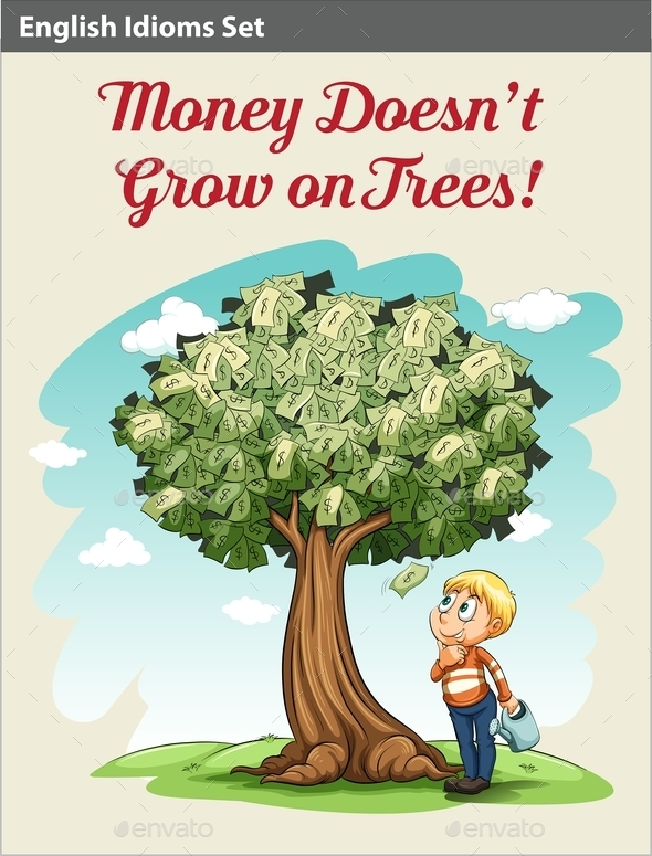 GraphicRiver Money Doesn t Grow on Trees 10849511
