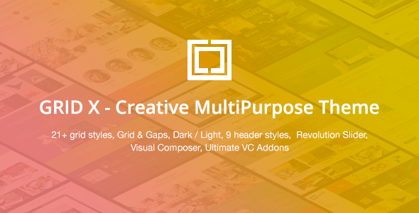 ThemeForest GRID X Creative MultiPurpose Theme 10765043