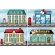 Houses and Shops - GraphicRiver Item for Sale