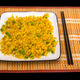 Rice with vegetables and chopsticks on bamboo mat - PhotoDune Item for Sale