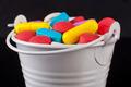 Colored Pills Bucket - PhotoDune Item for Sale