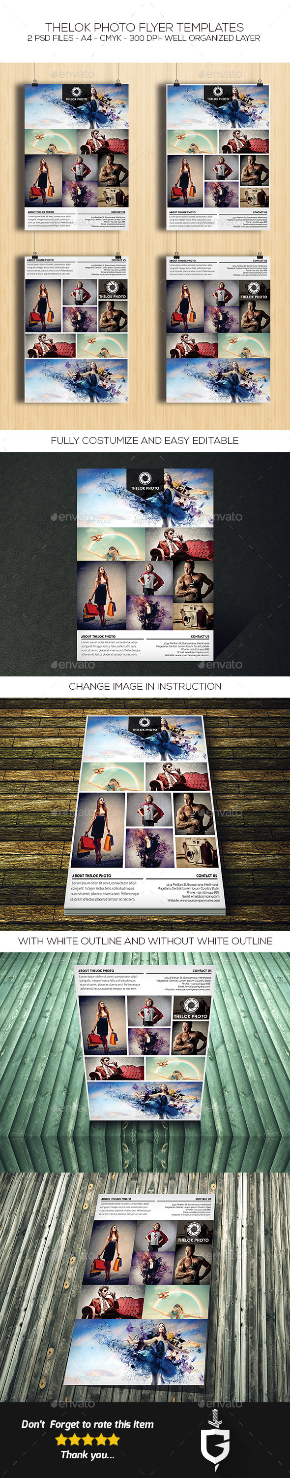 GraphicRiver TheLok Photo Flyer Template 10773380