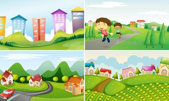 GraphicRiver Town 10852181