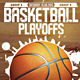 Basket Ball Playoffs Flyer - GraphicRiver Item for Sale