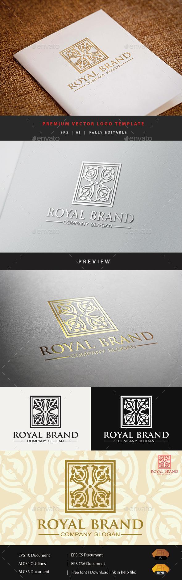 GraphicRiver Royal Brand 10852285