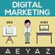 Digital Marketing Agency Opener - VideoHive Item for Sale
