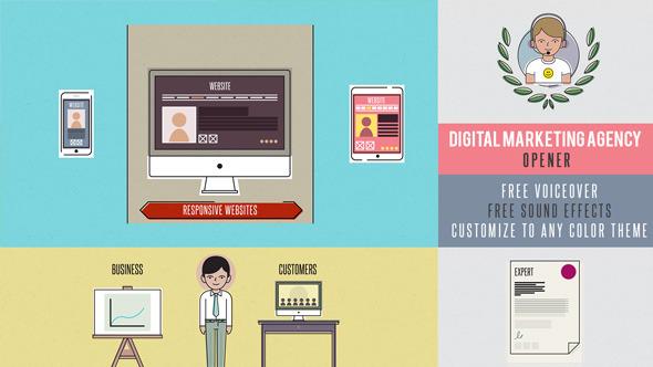 Digital Marketing Agency Opener