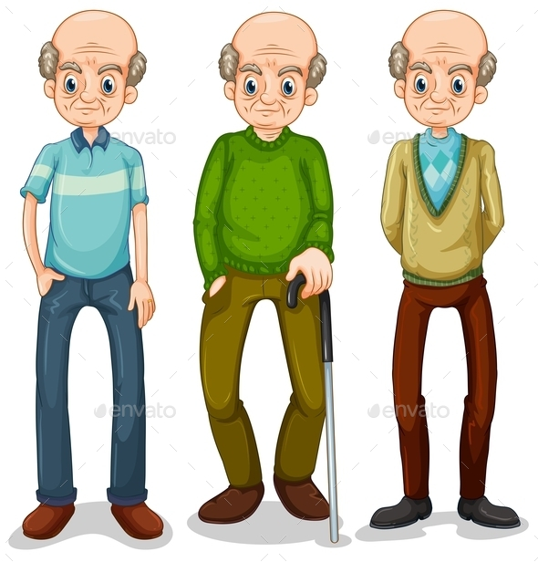 GraphicRiver Old Man 10853269