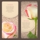 Floral Cards with Rose Flowers - GraphicRiver Item for Sale
