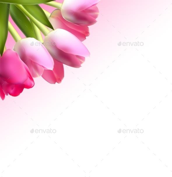 GraphicRiver Tulip Background 10853400