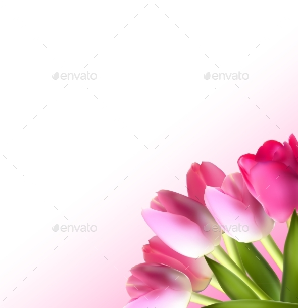 GraphicRiver Tulip Background 10853402