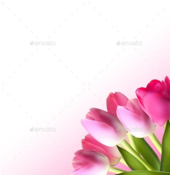 GraphicRiver Tulip Background 10853402