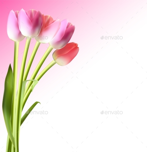 GraphicRiver Tulip Background 10853418