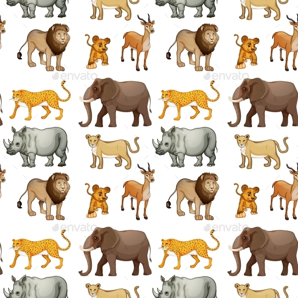 GraphicRiver Various Animals 10853501