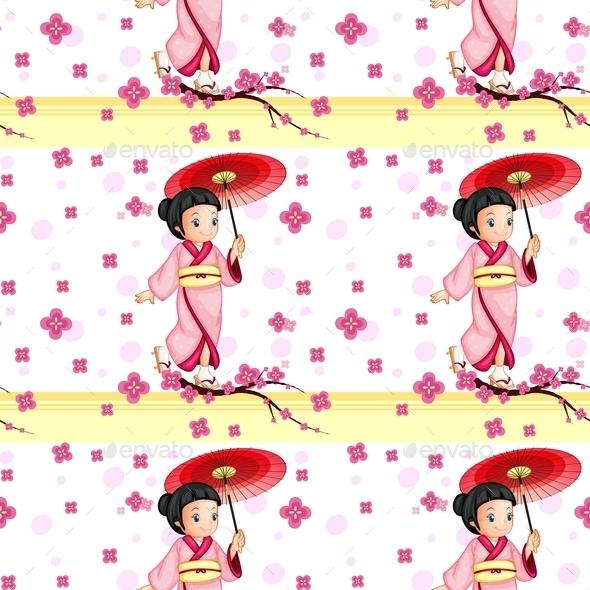 GraphicRiver Seamless Japanese Pattern 10853600