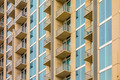 balconies array on an apartment building - PhotoDune Item for Sale