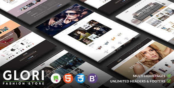 ThemeForest Glory Multipurpose Responsive PrestaShop Theme 10854554