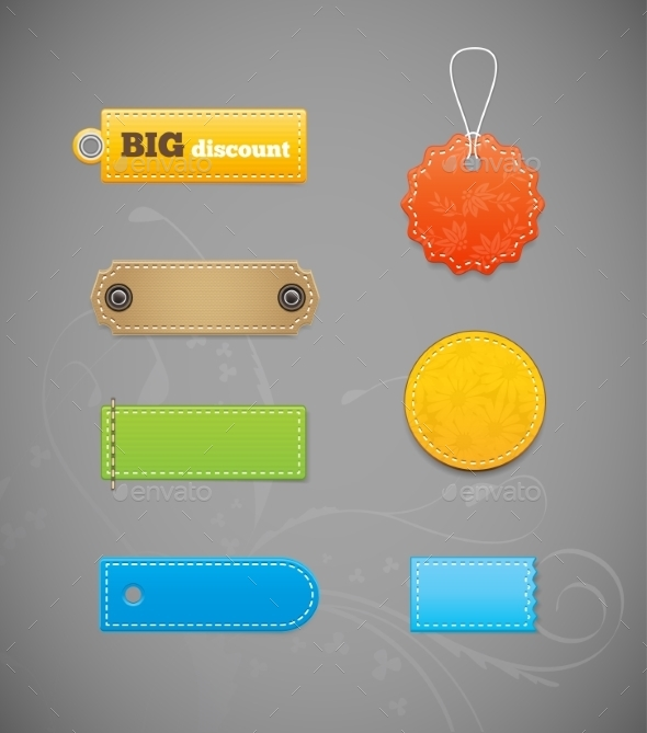 GraphicRiver Price Tag Labels 10854570