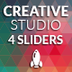 Creative Sliders - GraphicRiver Item for Sale