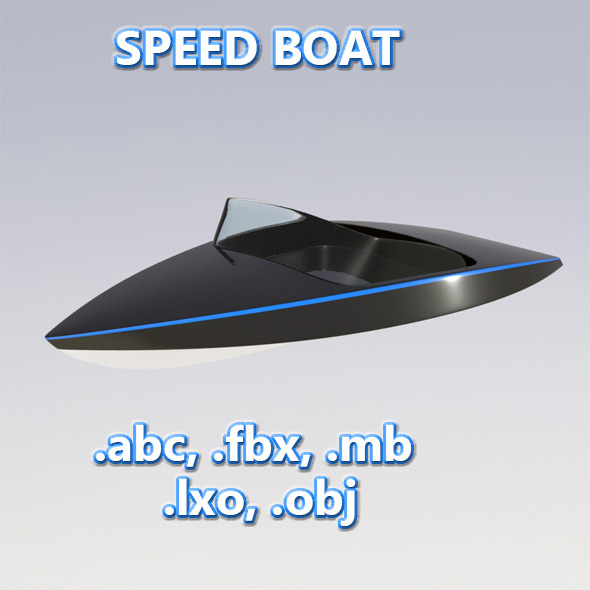3DOcean Speed Boat 10854658