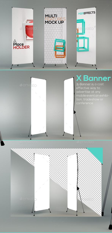 GraphicRiver X-Banner Mockup 10789721