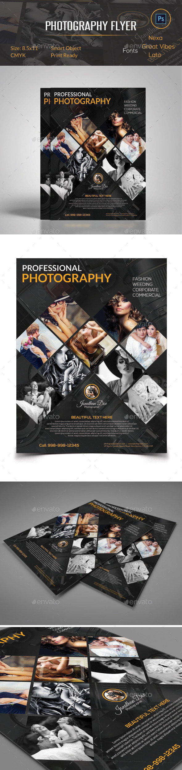 GraphicRiver Photography Flyer 10855098