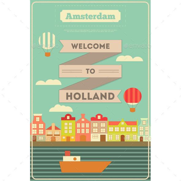 GraphicRiver Amsterdam 10855438