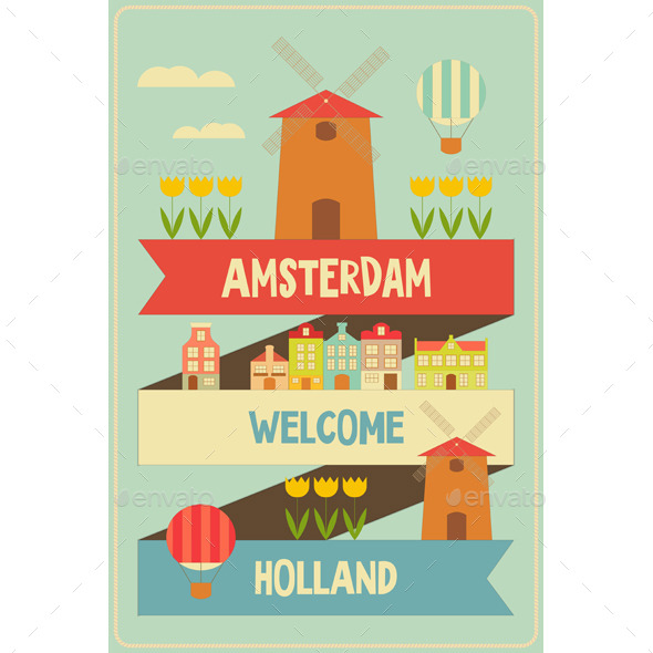 GraphicRiver Amsterdam 10855447