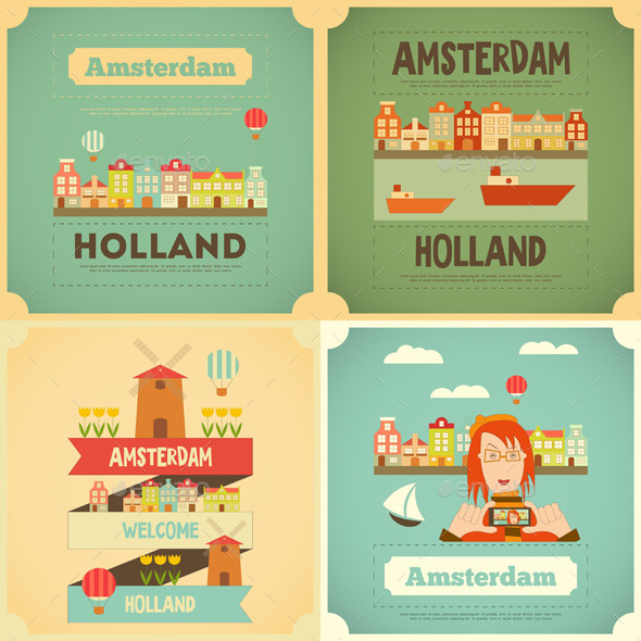 GraphicRiver Amsterdam 10855455