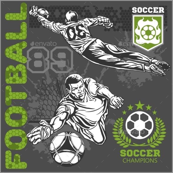 GraphicRiver Football Players 10855465