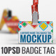 Lanyard Name Tag Badge Mockup - GraphicRiver Item for Sale