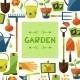 Garden Elements Background  - GraphicRiver Item for Sale