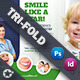 Kids Dental Tri-Fold Templates - GraphicRiver Item for Sale