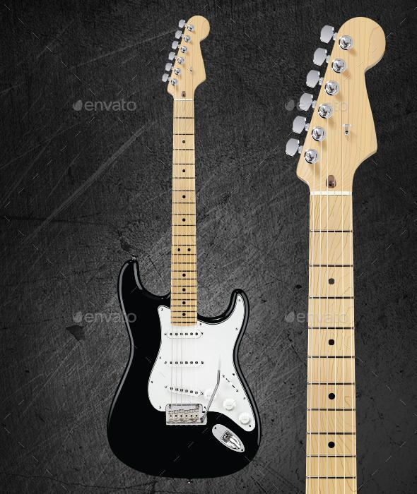 GraphicRiver Photorealistic Guitar 10801013
