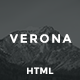 Verona - Portfolio Template - ThemeForest Item for Sale